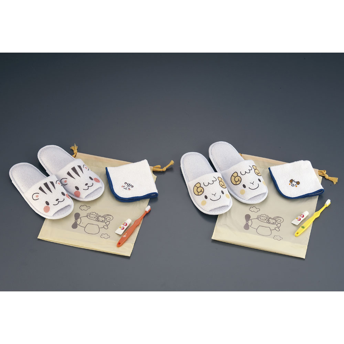 なかよしアメニィティセット(200個入) 子供用 6-1312-1001【厨房用品 長靴 白衣 靴 サンダル スリッパ 業務用 販売 通販】[10P03Dec16]