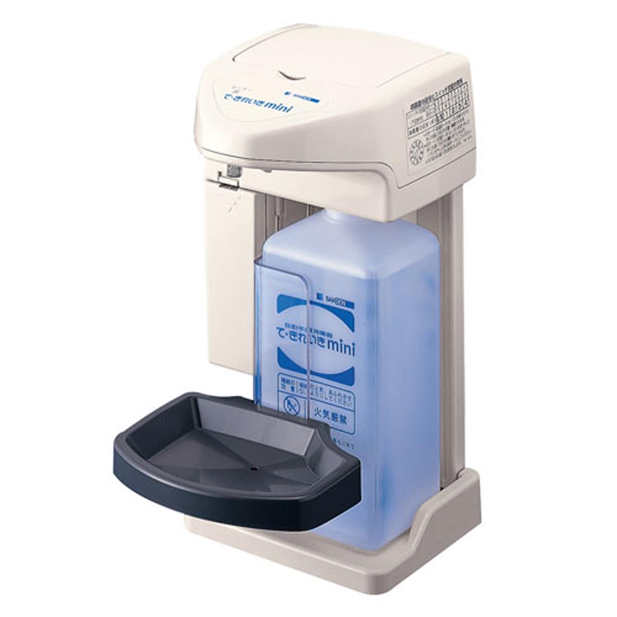 自動手指消毒器 て・きれいきMINI TEK-M1B-2 6-1290-0601【厨房用品 清掃用品 トイレ用品 手洗い 消毒 業務用 販売 通販】[10P03Dec16]