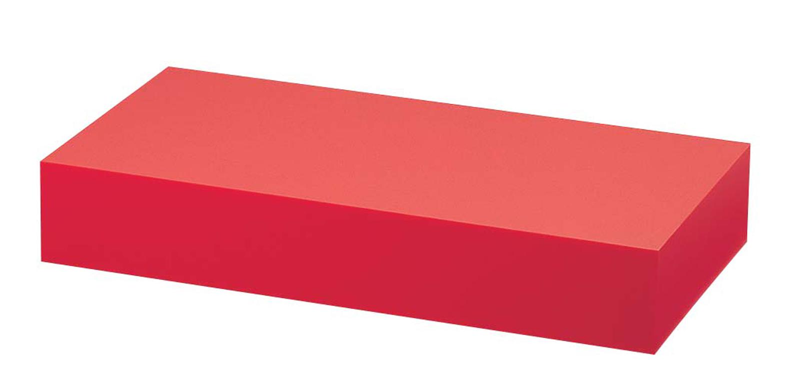 アクリル ディスプレイBOX 大 朱マット B30-5 【卓上用品 バンケットウェア 宴会備品 皿 飾台 卓上器物 業務用 販売 通販】 [7-1594-1001 6-1530-1001 ]