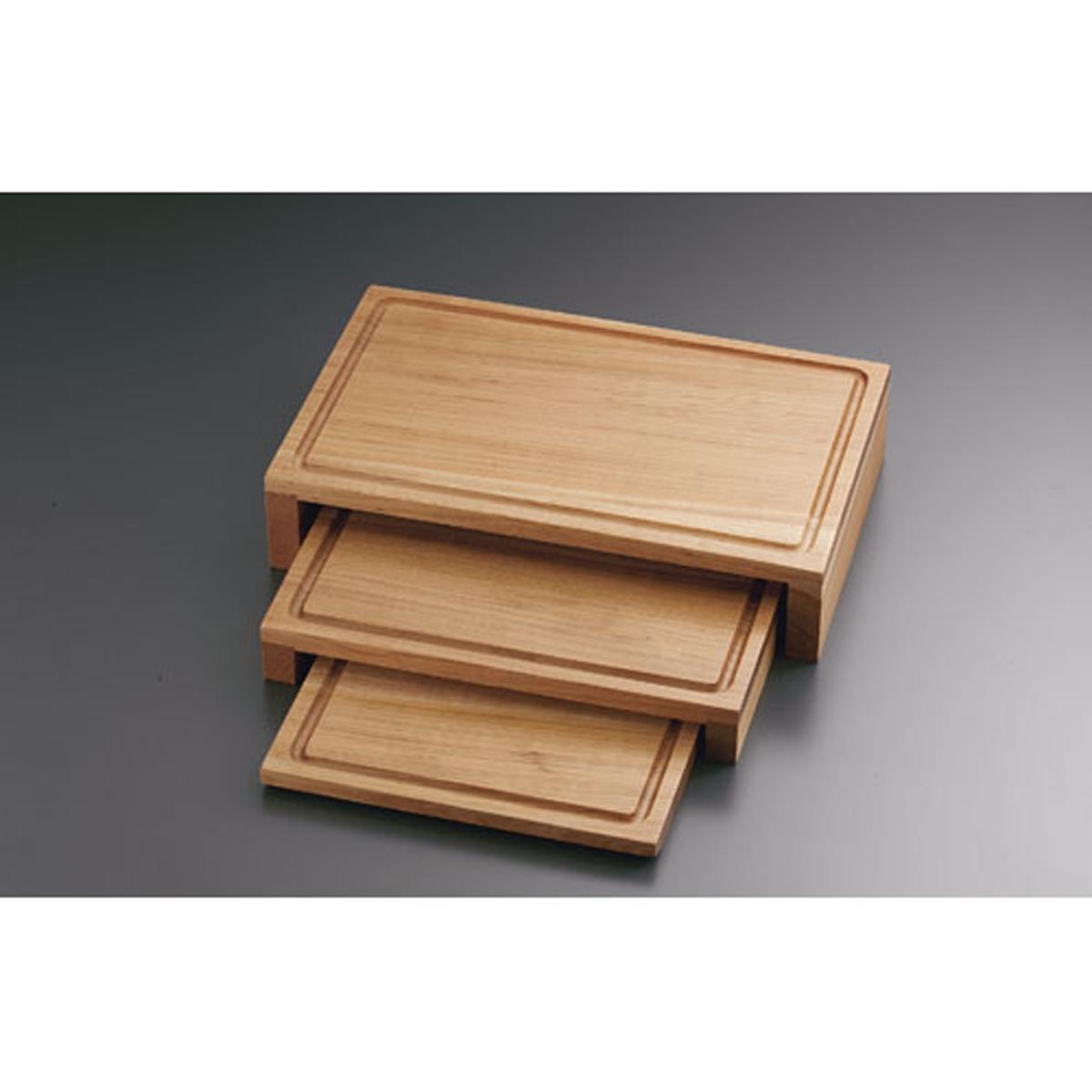 木製 ライザープレートセット CH-801 6-1529-0901【卓上用品 バンケットウェア 皿 飾台 卓上器物 業務用 販売 通販】[10P03Dec16]