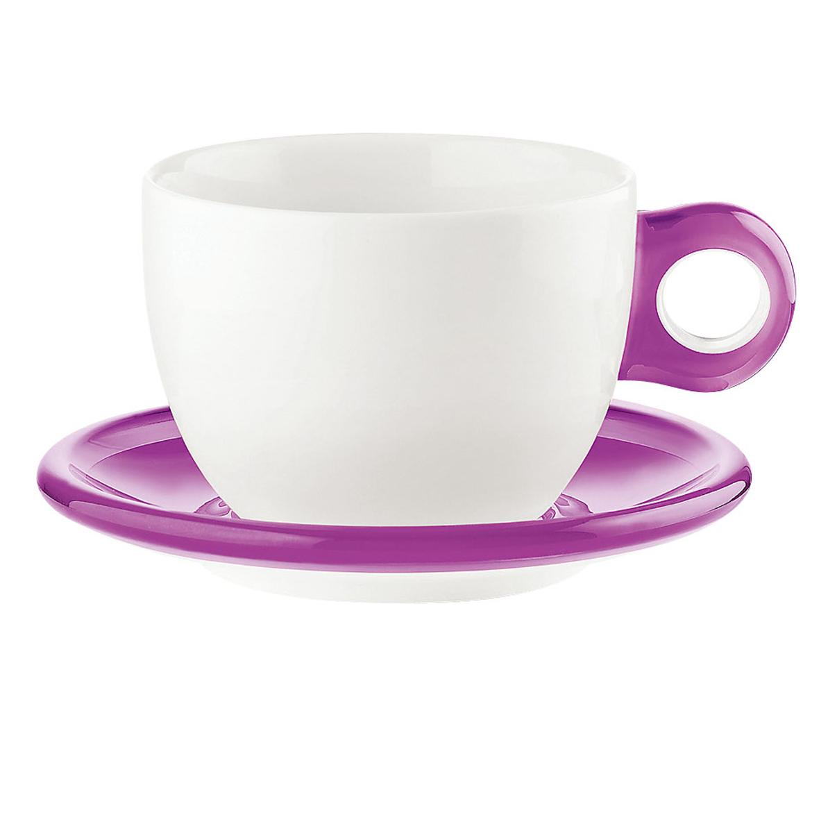 ラージコーヒーカップ 2客セット 2775.0001バイオレット 6-2148-0201【卓上用品 グラス 食器 洋食器 コーヒー ティーカップ 業務用 販売 通販】[10P03Dec16]