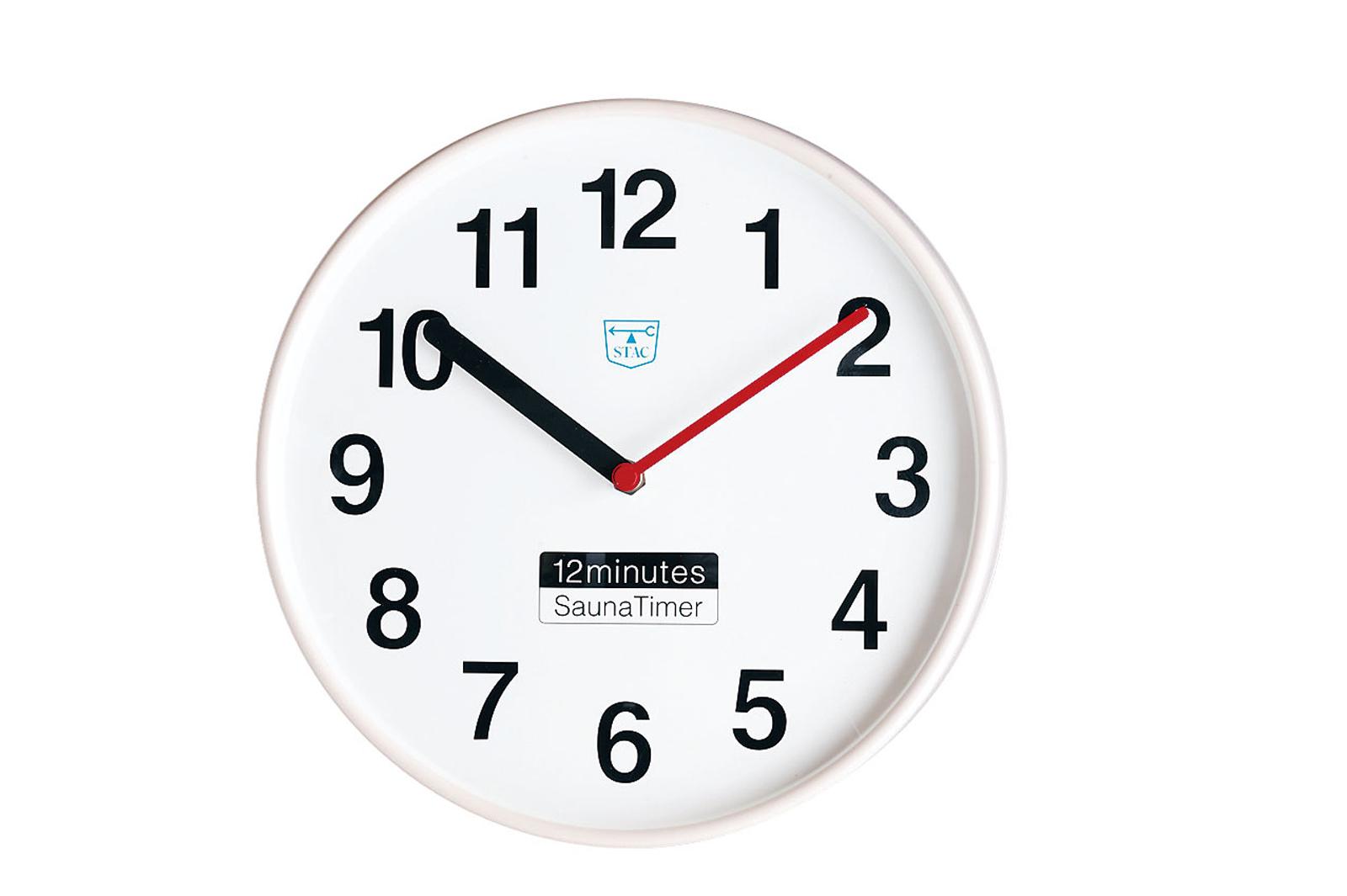 サウナタイマー 12分計 STAC 50Hz 6-2252-0201【インテリア ホテル 旅館用品 浴室用品 業務用 販売 通販】[10P03Dec16]