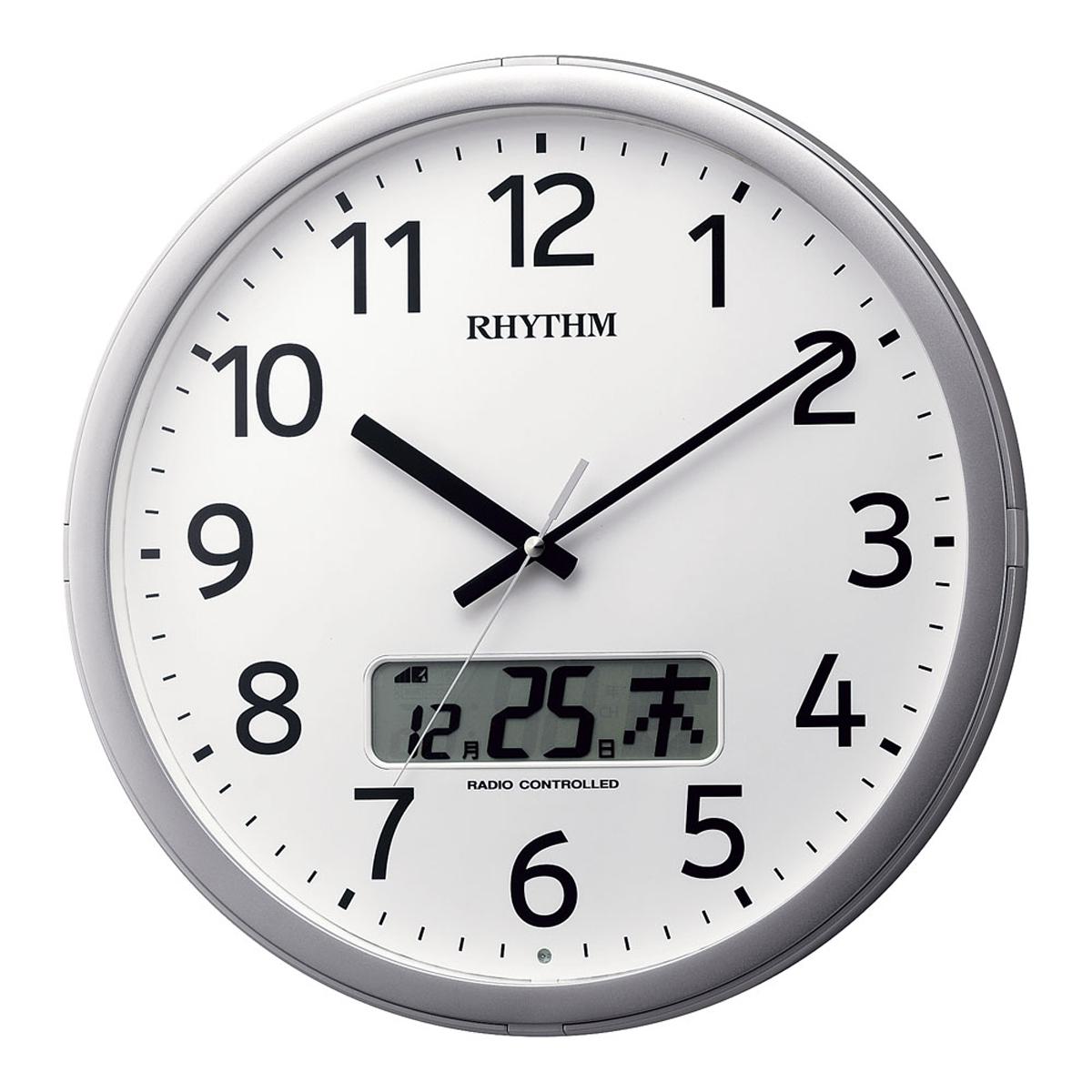 リズム プログラムカレンダー01SR 4FNA01SR19 6-2372-0401【インテリア 店舗備品 装飾インテリア 時計 業務用 販売 通販】[10P03Dec16]