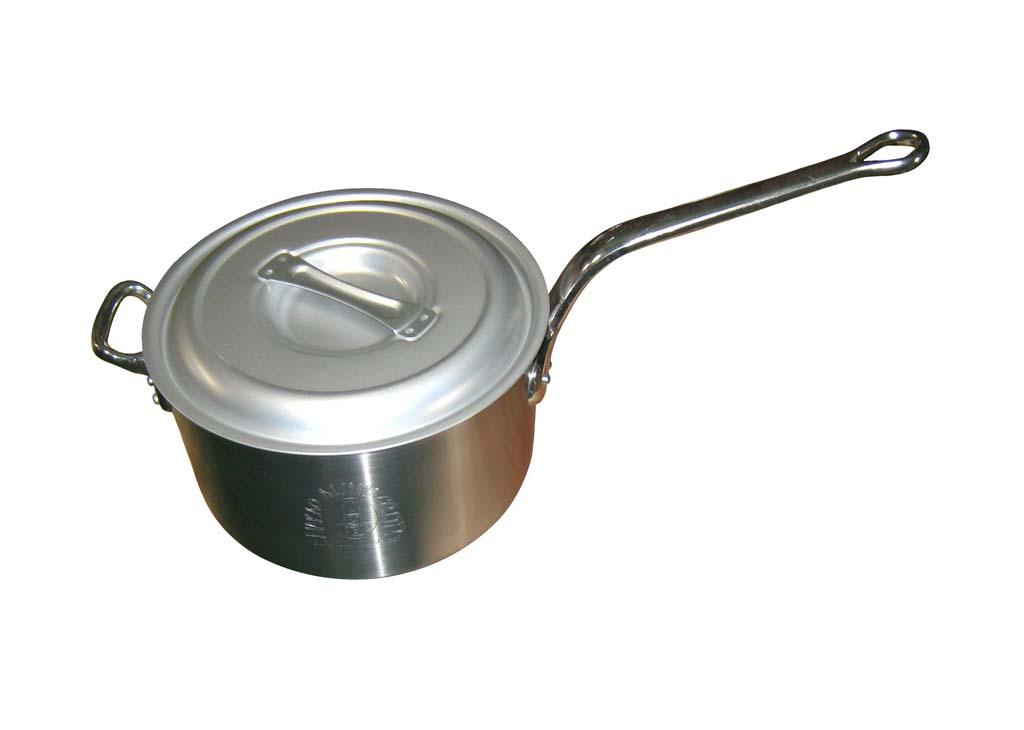 キング アルミ 深型 片手鍋(目盛付)30cm 0027-04 【厨房用品 業務用鍋類・フライパン 業務用 特価 格安 新品 販売 通販】[10P03Dec16]