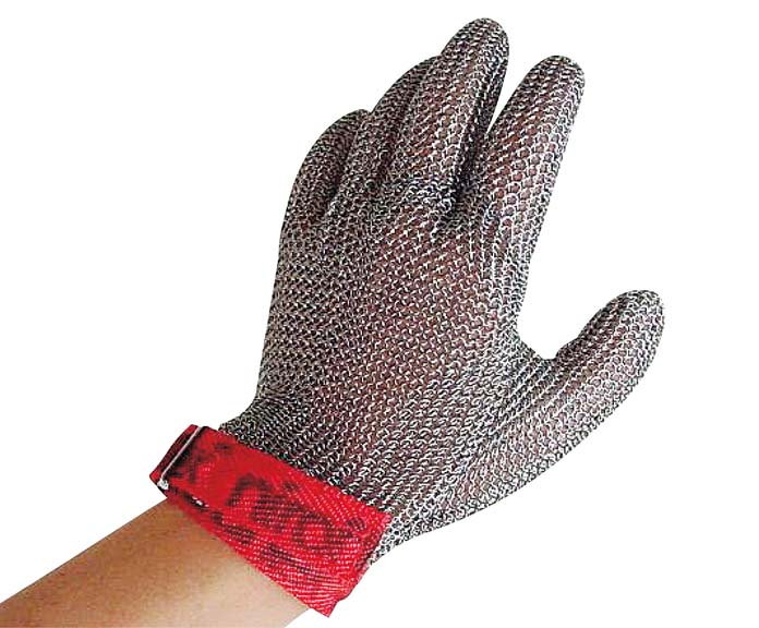ニロフレックス メッシュ手袋(1枚)L ステンレス 1097-01 【厨房用品 手袋・マスク・シューズ・マット 業務用 特価 格安 新品 販売 通販】[10P03Dec16]