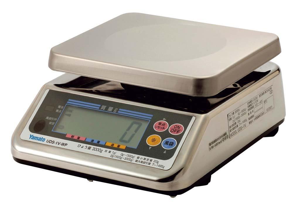 ヤマト デジタル上皿はかり UDS-1VN-WP-3 3kg 【厨房用品 はかり タイマー 温湿度計 業務用 特価 格安 新品 販売 通販】 [0617-09]