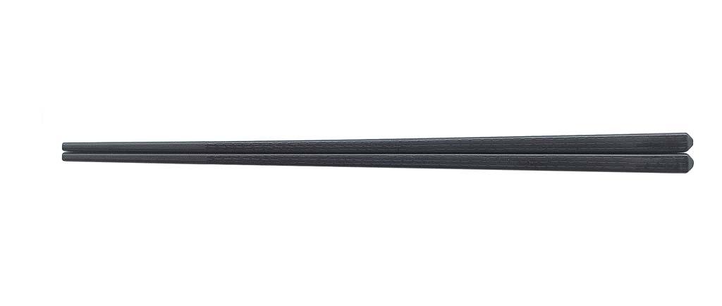 SPS樹脂箸 えびす四角 21.8cm 黒 1398-15 [10P03Dec16]