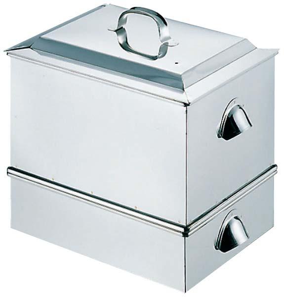 EBM 18-8 ウナギ 蒸し器 小(350×290×H340) 0373-08 【厨房用品 蒸し器・セイロ類 業務用 特価 格安 新品 販売 通販】[10P03Dec16]