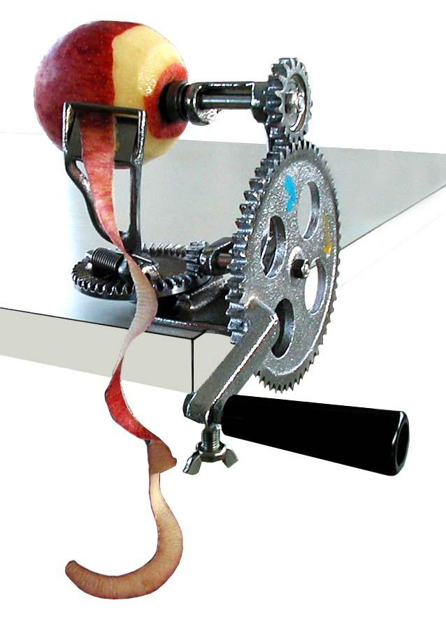 りんご皮ムキ機 IS-310型 【厨房用品 調理機械 業務用 特価 格安 新品 販売 通販】 [0330-04]
