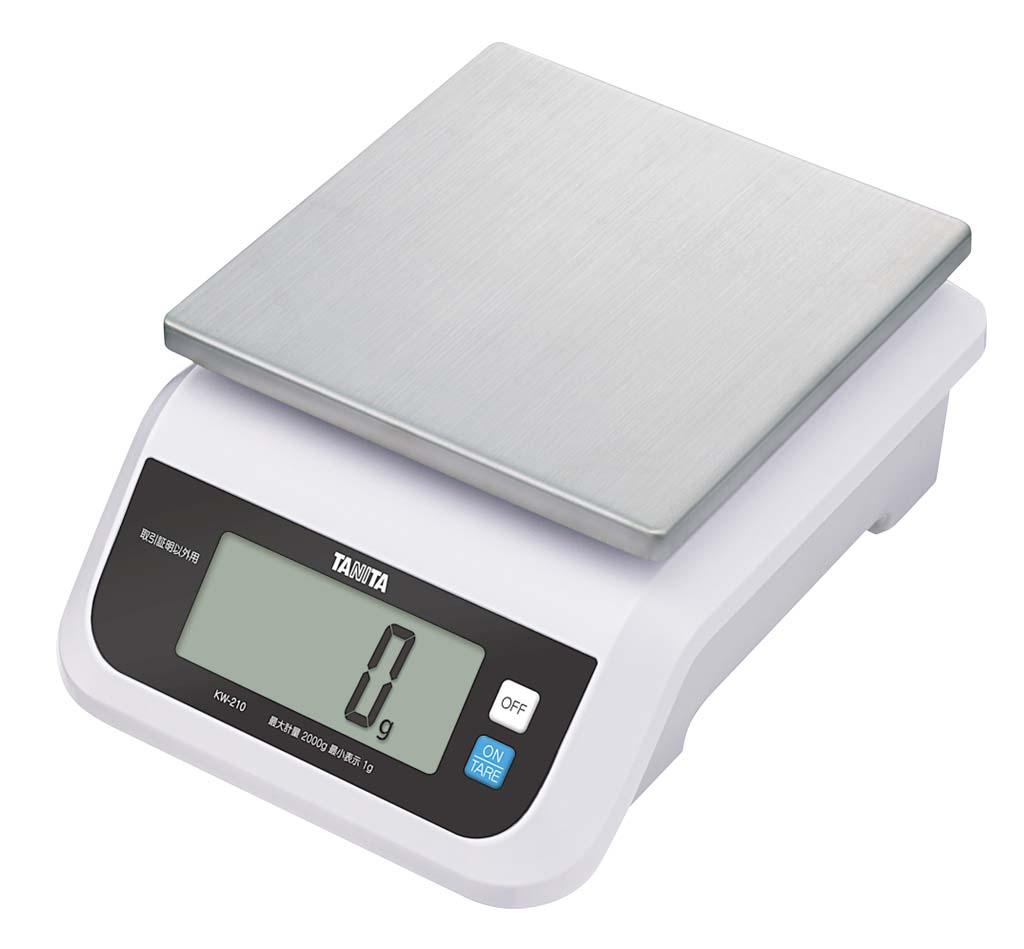 タニタ デジタルスケール 2kg KW-210 0312-02 【厨房用品 はかり・タイマー・温湿度計 業務用 特価 格安 新品 販売 通販】[10P03Dec16]