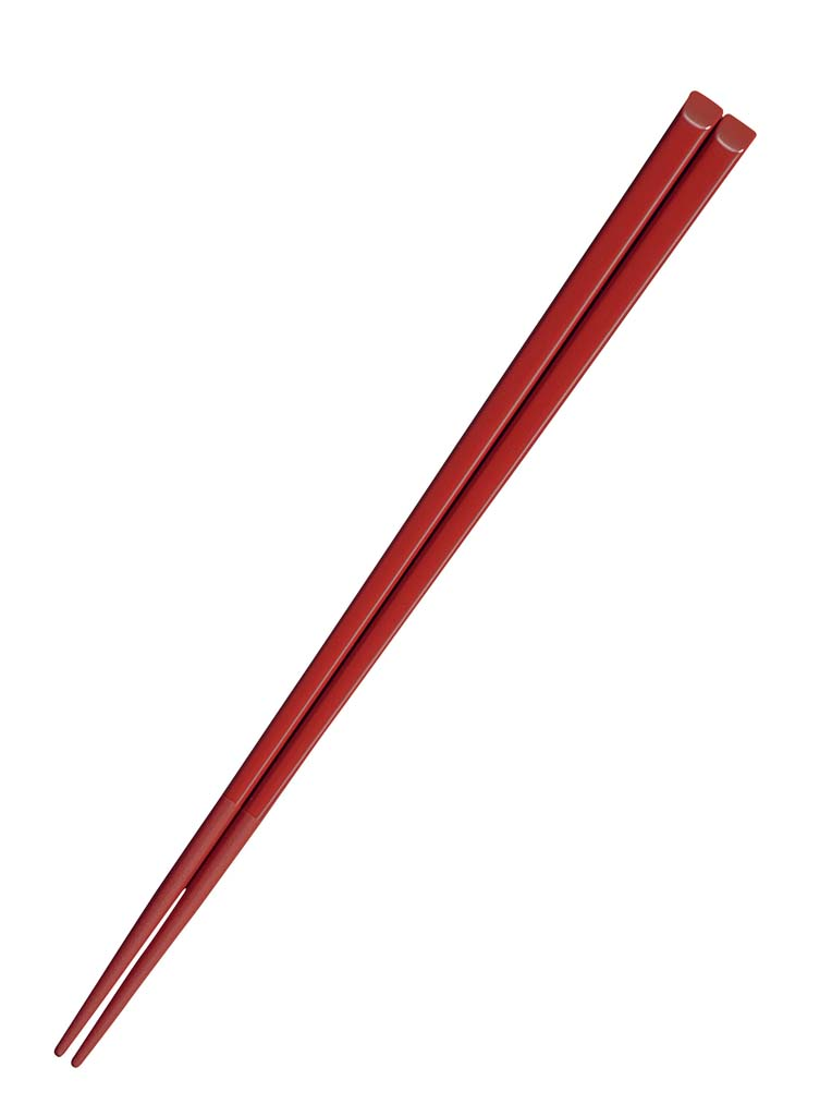 ハイロン 箸 H28 18cm 朱 1400-27 [10P03Dec16]