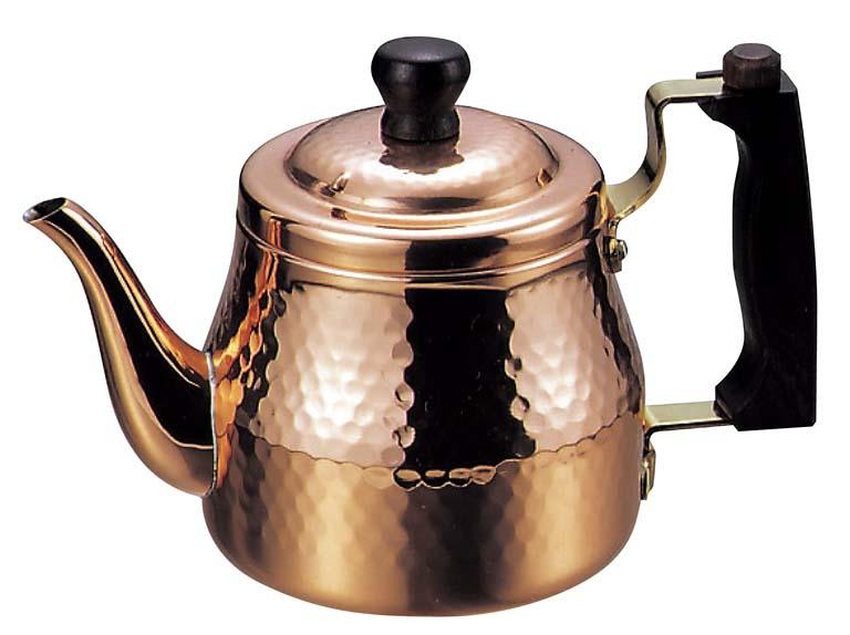 銅 ティーポット S-2508 【卓上用品 喫茶 サービス用品 業務用 特価 格安 新品 販売 通販】 [1123-14]