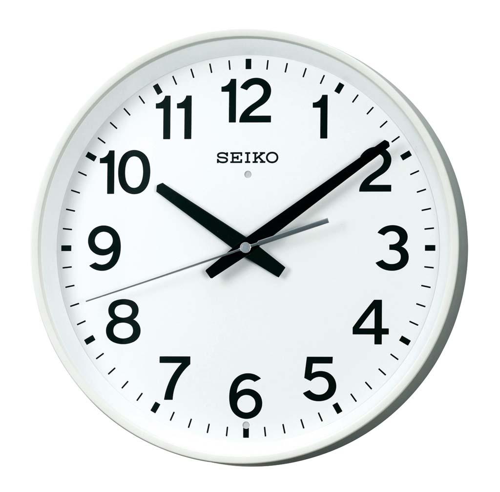 セイコー 掛時計 オフィスクロック KX317W 【ホール備品 事務用品 時計 業務用 特価 格安 新品 販売 通販】 [1760-02]