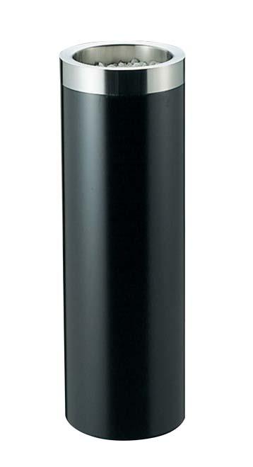 EBM 丸 スモーキングスタンド ブラック MB-200S 1968-09 【ホール備品 ロビー関連商品 業務用 特価 格安 新品 販売 通販】[10P03Dec16]