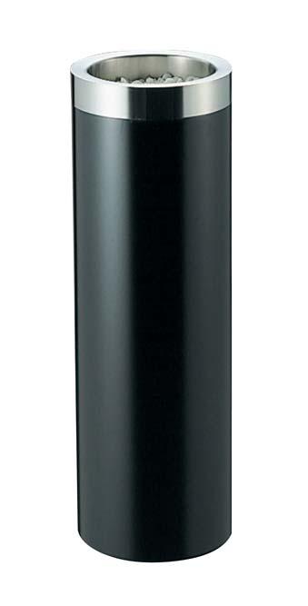 EBM 丸 スモーキングスタンド ブラック MB-250S 1968-10 【ホール備品 ロビー関連商品 業務用 特価 格安 新品 販売 通販】[10P03Dec16]