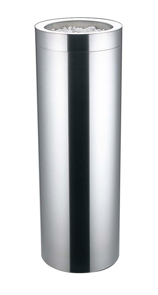 EBM 18-8 丸 スモーキングスタンド MR-200SS 1968-06 【ホール備品 ロビー関連商品 業務用 特価 格安 新品 販売 通販】[10P03Dec16]