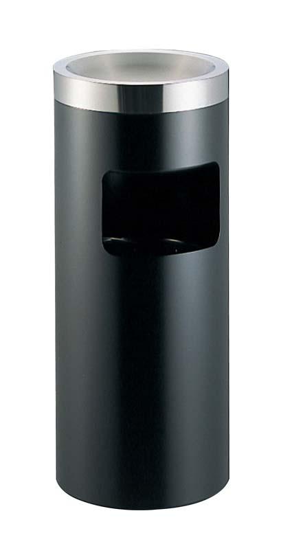 EBM 丸 スモーキングスタンド ブラック MB-250SD 1968-11 【ホール備品 ロビー関連商品 業務用 特価 格安 新品 販売 通販】[10P03Dec16]