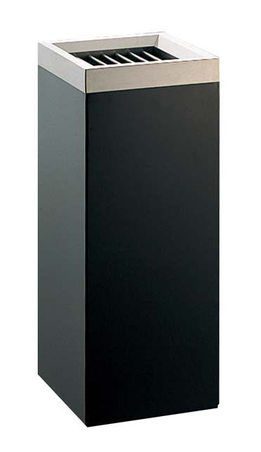 EBM 角 スモーキングスタンド ブラック MKB-250S 1967-08 【ホール備品 ロビー関連商品 業務用 特価 格安 新品 販売 通販】[10P03Dec16]