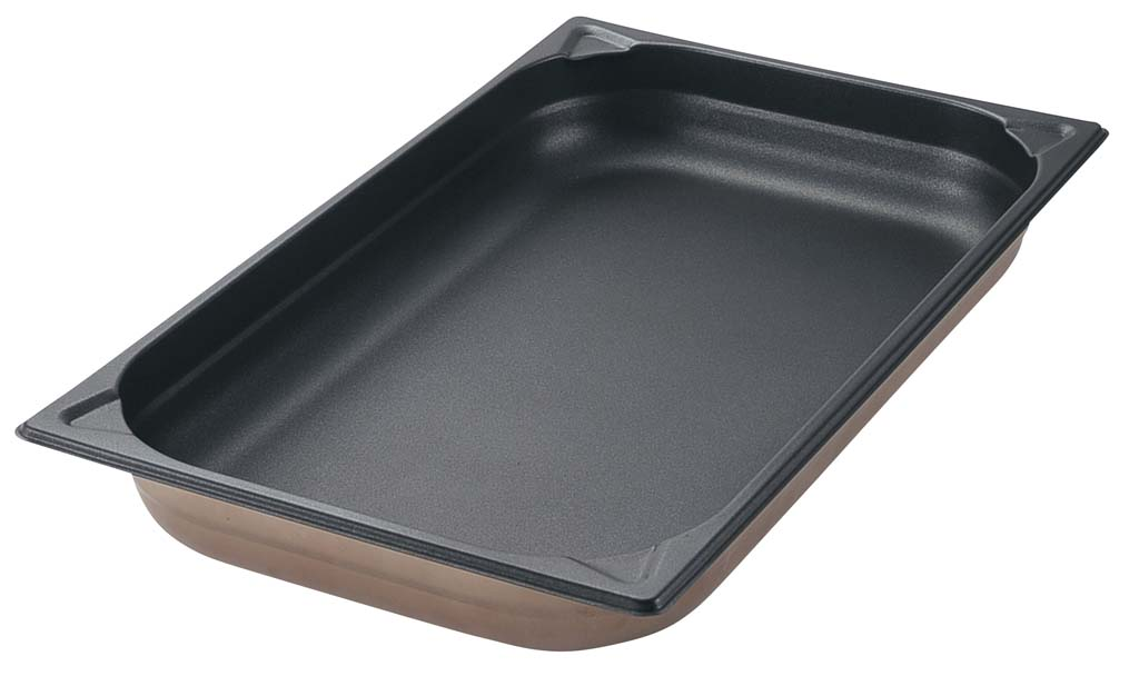 プロシェフ 18-8 ノンスティックGNパン 1/1 150mm 【厨房用品 フードパン 天板 バット 業務用 特価 格安 新品 販売 通販】 [0162-05]