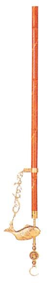 青銅自在釣 佐渡の名竹 鯛(砲金鋳特) 【ホール備品 テーブル 椅子 関連 業務用 特価 格安 新品 販売 通販】 [1828-11]