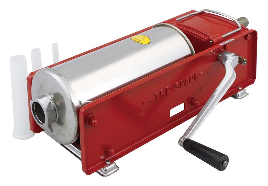 ソーセージ フィーラー Model.7 横型 7L 【厨房用品 調理機械 業務用 特価 格安 新品 販売 通販】 [0309-06]