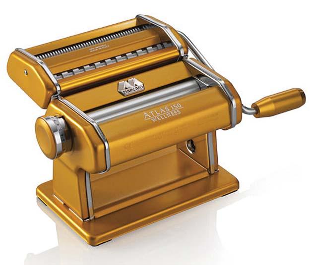 アトラス カラーラインパスタマシン ゴールド 0672-05 【厨房用品 電子レンジ・オーブン・ピザ・パスタ 業務用 特価 格安 新品 販売 通販】[10P03Dec16]