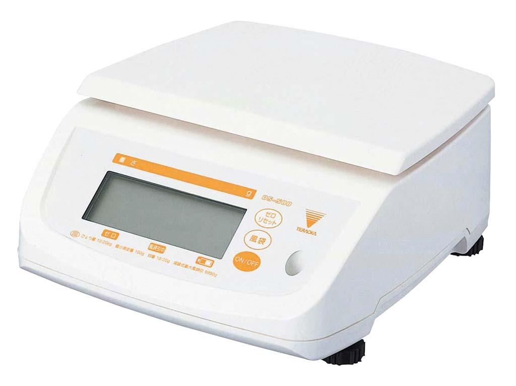 テラオカ 防水型デジタルはかり テンポ DS-500 2kg 0312-03 【厨房用品 はかり・タイマー・温湿度計 業務用 特価 格安 新品 販売 通販】[10P03Dec16]