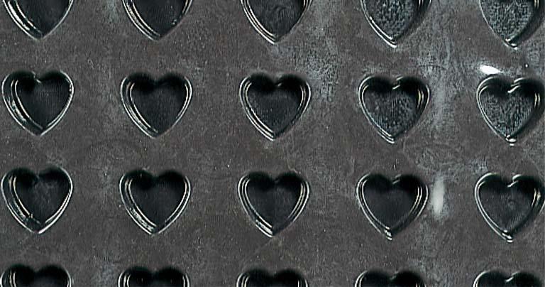 ドゥマール フレキシパン 1340 ハート 20取 【厨房用品 ケーキ焼型 モールド 業務用 特価 格安 新品 販売 通販】 [0823-09]