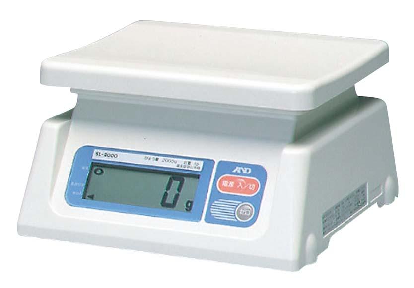 A&D デジタル ハカリ SL20KJA 20kg 【厨房用品 はかり タイマー 温湿度計 業務用 特価 格安 新品 販売 通販】 [0618-02]