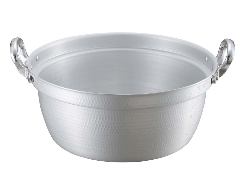 キングアルマイト 打出 料理鍋(目盛付)51cm 0028-08 【厨房用品 業務用鍋類・フライパン 業務用 特価 格安 新品 販売 通販】[10P03Dec16]
