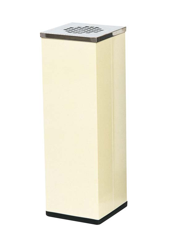 スモーキングスタンド NS88 アイボリー 角型 1968-22 【ホール備品 ロビー関連商品 業務用 特価 格安 新品 販売 通販】[10P03Dec16]