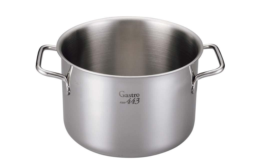 EBM Gastro 443 半寸胴鍋(蓋無)36cm 0011-02 【厨房用品 業務用鍋類・フライパン 業務用 特価 格安 新品 販売 通販】[10P03Dec16]