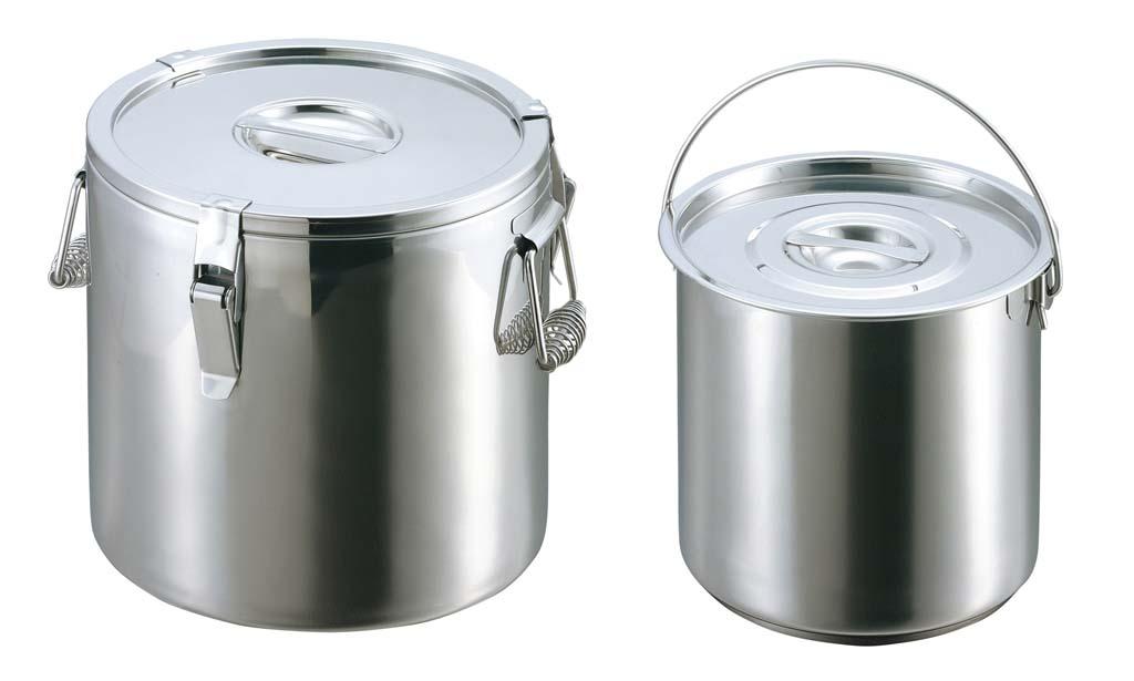 EBM ステンレス 二重保温食缶 43cm 0083-01 【厨房用品 キッチンポット・保存容器 業務用 特価 格安 新品 販売 通販】[10P03Dec16]