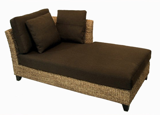 Water Hyacinth Daybed Sofa Single Corner Design And Contemporary Furniture Custom Made