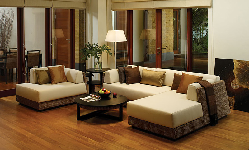 Water hyacinth sofa 1.5P/ modern horse mackerel Ann furniture (order industrial goods)