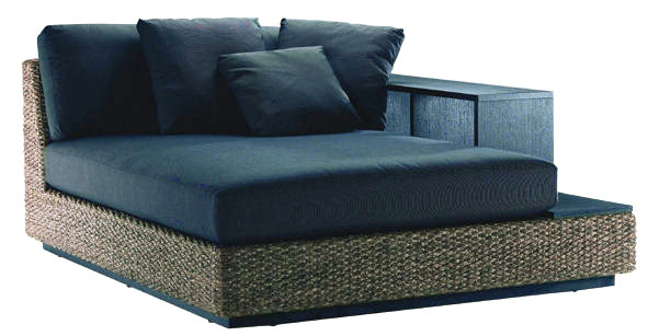 nagi | Rakuten Global Market: Water hyacinth single-/ daybed sofa ...