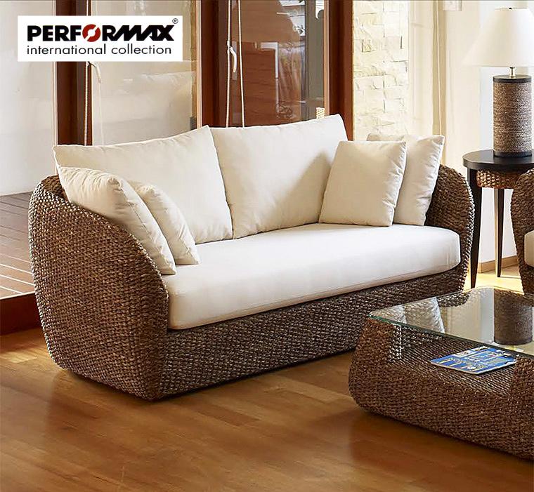 Water hyacinth series sofa 2 P / 2 seat sofa / modern Asian furniture order  production