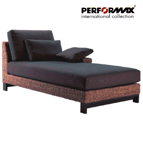 A reverse side elbow rest type appearance! Water hyacinth D bed sofa /  couch sofa / corner sofa specifications / horse mackerel Ann sofa resort  Bali ...