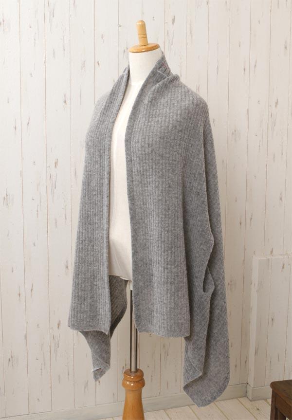 mino 「winter hare-stitch-nico ライトグレー」