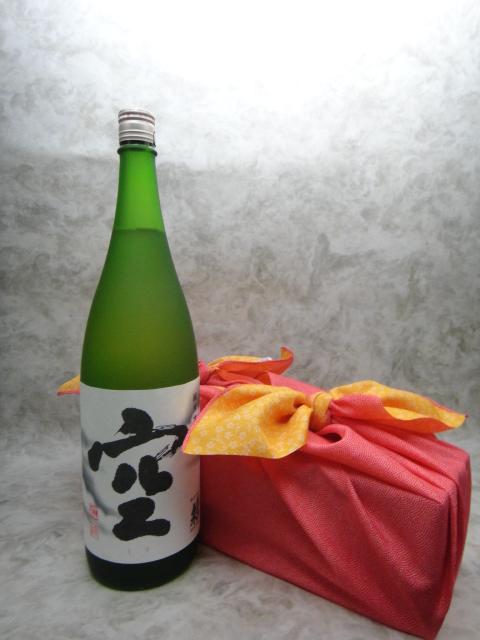 【風呂敷包み!】蓬莱泉 空 1800ml【関谷醸造】