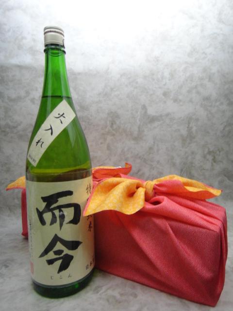 【風呂敷包み!】而今(じこん) 特別純米 火入れ 1800ml【木屋正酒造】【三重県 日本酒】