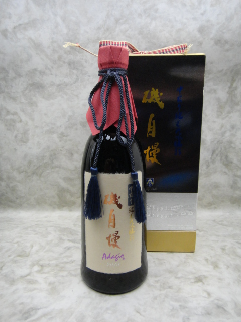 ※包装不可 磯自慢 純米大吟醸 中取り35 Adagio アダージョ 720ml 日本酒 2019年12月詰