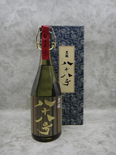 黒龍 八十八号 大吟醸 日本酒 720ml 2019年11月詰