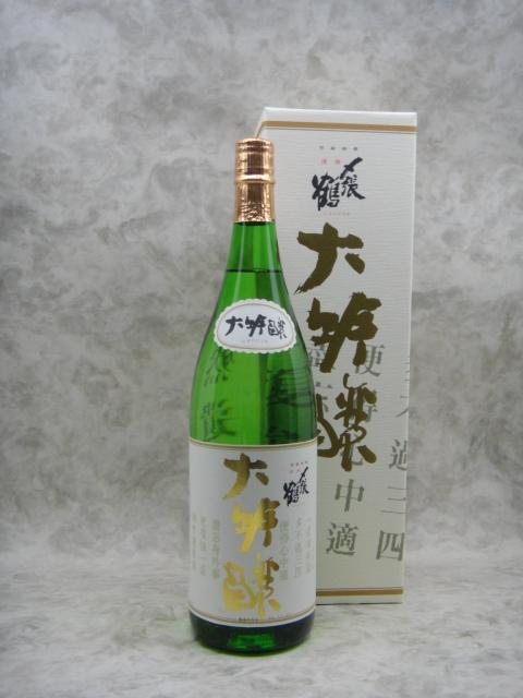 〆張鶴 大吟醸 金ラベル 日本酒 1800ml 2019年11月詰