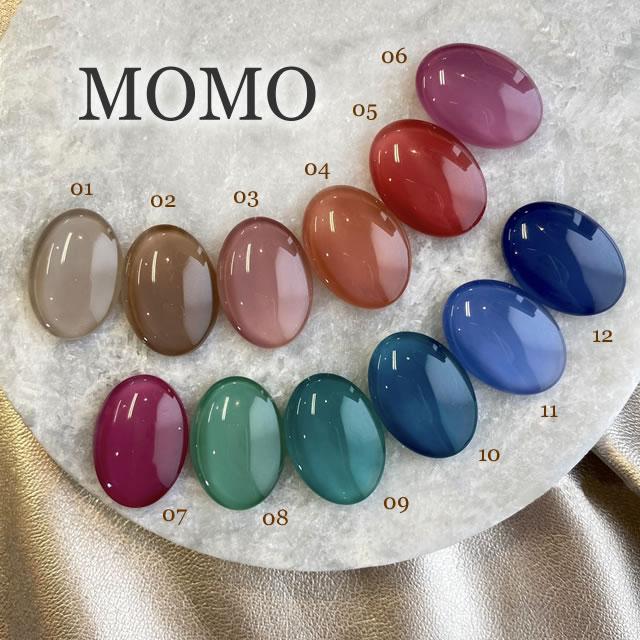ジェルネイル ソフトジェル カラージェル MOMO by nail for 《10個までメール便でも可》 開店祝い 3g all 購買