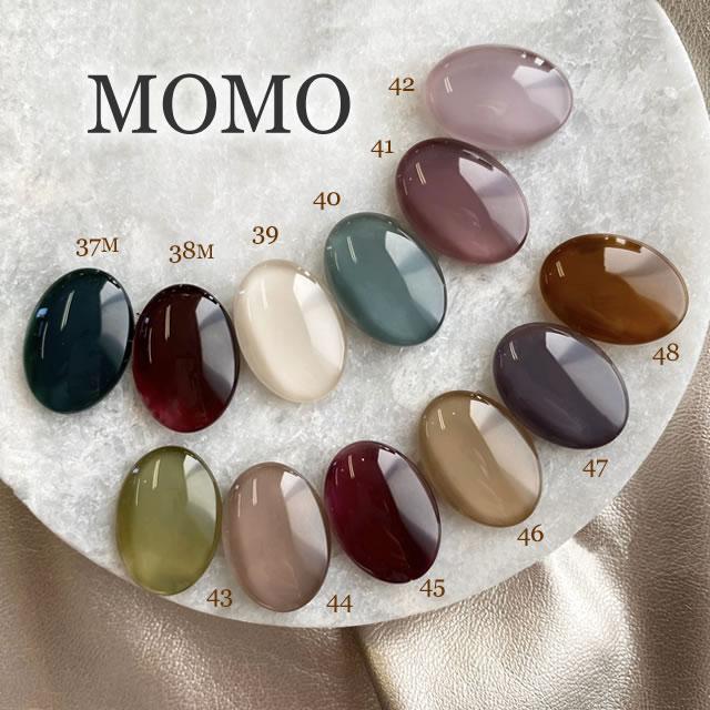 【ジェルネイル】【ソフトジェル】 ■カラージェル MOMO by nail for all 3g 37-48 《10個までメール便でも可》