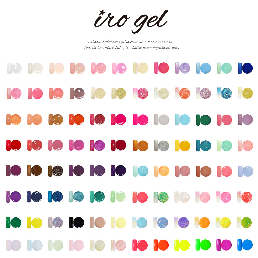 Nail Mania Tokyo Gelnail: Color gel topical right now! [irogel ...