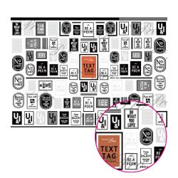 高い素材 ネイルシール 文字 メッセージ 写ネイルPro トールラベル テキストタグ 時間指定不可 アルファベット