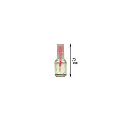 ネイル用品 ネイルケース NFS カラーキャップ空ボトル レッド 12ml プチプラ