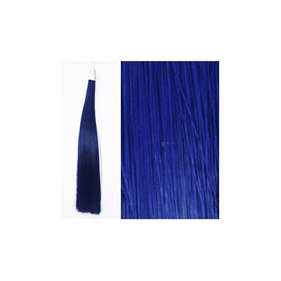カミエク ヘアーエクステンション ブルー 4本毛